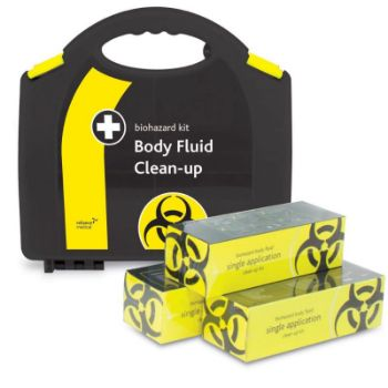 Picture of 5 APPLICATION BODY FLUID CLEAN-UP SPILL KIT