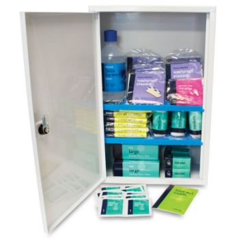 Picture of HSE Workplace Plus Kit in Sofia Metal Wall Cabinet