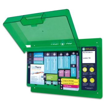 Picture of Small Workplace Kit in Deluxe First Aid Wall Station
