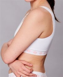 Picture of Peony Hook & Eye Front Fastening Bamboo Post Surgery Bra