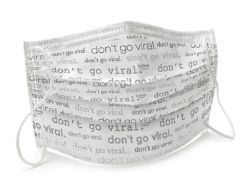 Picture of Level 1 ASTM Surgical Mask
