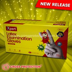 Picture of XPERT LATEX EXAMINATION GLOVES - POWDERED