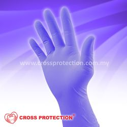 Picture of XTRETCH NITRILE EXAMINATION GLOVES - POWDER FREE